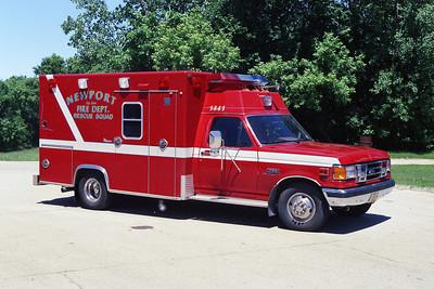 NEWPORT AMB 1441  1989 FORD F-HORTON
