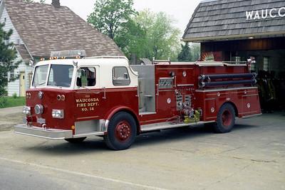 WAUCONDA FD  ENGINE 3410  1974  PIRSCH   1000-1000   #3090