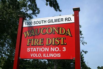 WAUCONDA FD  STATION 3 SIGN