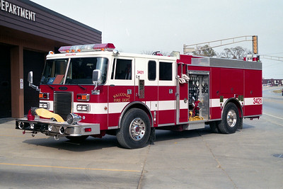 WAUCONDA FD  ENGINE 3421  1992  PIERCE LANCE   2000-500  E-6785
