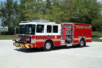 WAUCONDA FD  ENGINE 3423  2009  HME - FERRARA   1500-750   #H-4222