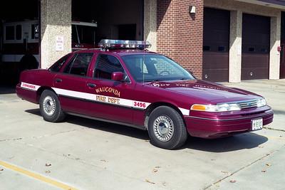 WAUCONDA FD  CAR 3496  1994  FORD CROWN VIC