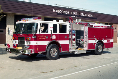 WAUCONDA FD  ENGINE 3411  1996  PIERCE SABER   1500-750   EA-167-01