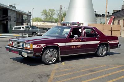 WAUCONDA FD  CAR 3495  1987  FORD LTD