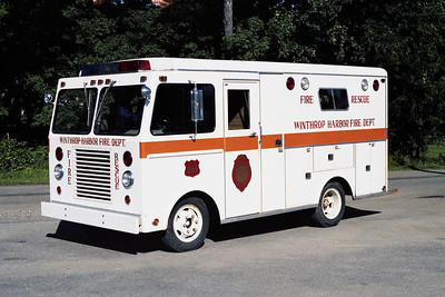 WINTHROP HARBOR  SQUAD 1750   1974 FORD - WELCH