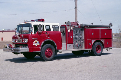 ZION  ENGINE  FORD C8000 - E-ONE