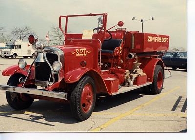ZION FD  1928 PIRSCH