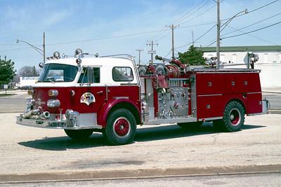 ZION  ENGINE 1811  1971 ALFCO 1000   1250-500