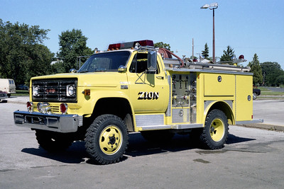 ZION  ENGINE 1884   1977 GMC - E-ONE  250-300