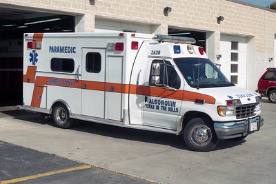 ALGONQUIN-LAKE IN THE HILLS FPD  AMBULANCE  2A26
