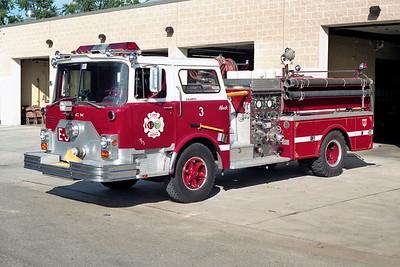 ALGONQUIN  ENGINE 3   1973 MACK CF   1000-500   CF685F10-1519    X- HOLBROOK FD NY