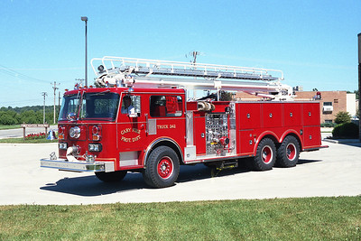 CARY FPD  TRK 242