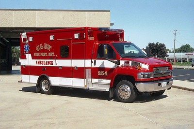 CARY FPD AMBULANCE 254 2005 CHEVY - MEDTEC