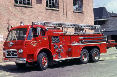 CARY FPD  ENGINE 210   IHC CO190 - SEAGRAVE