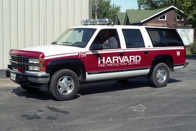 HARVARD CAR 759  CHEVY SUBURBAN