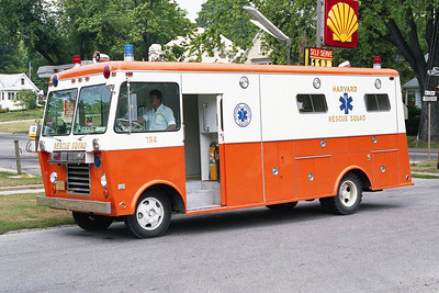HARVARD RESCUE SQUAD 754  1977 FORD - WELCH  BF
