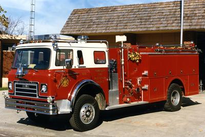 HUNTLEY  ENGINE 936  1977 IHC CARGOSTAR - DARLEY   1000-1000
