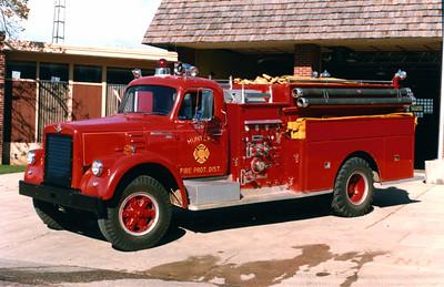 HUNTLEY  ENGINE 926  1965 IHC V190 - DARLEY  750-1000