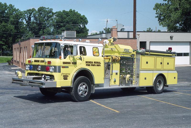 NUNDA RURAL FPD ENGINE 1336  1984 FORD C-8000 - FMC  1250-1000  BF