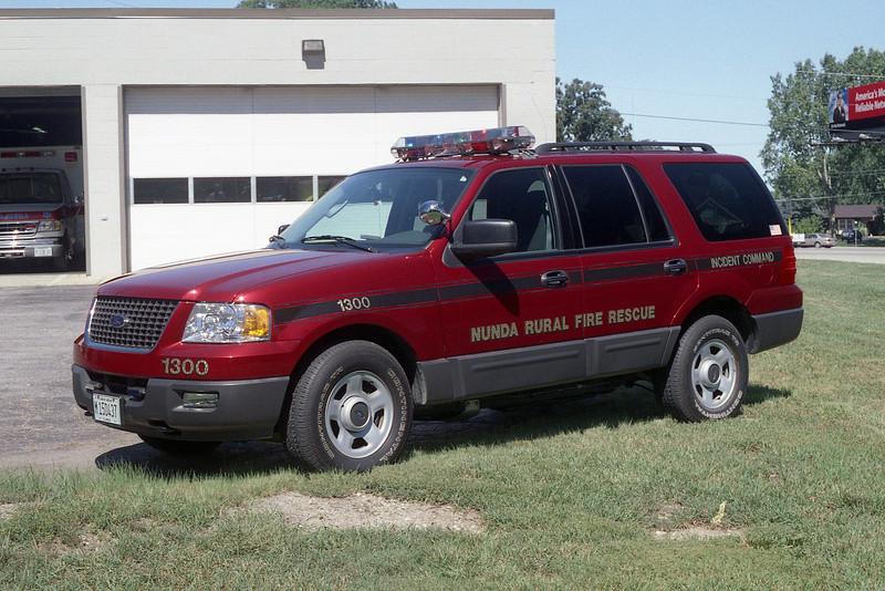 NUNDA RURAL FPD CAR 1300