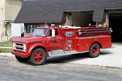 UNION FPD  ENGINE 1503  1967  CHEVY 60 - DARLEY   750-650   #80171