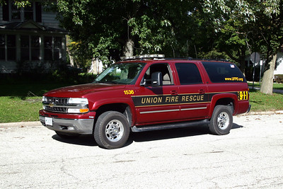 UNION FPD  CAR 1536  2006  CHEVY TAHOE