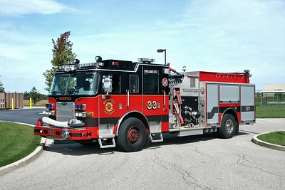 WOODSTOCK FIRE-RESCUE DISTRICT  ENGINE 33  2009  PIERCE ARROW XT   1500-750     #22250