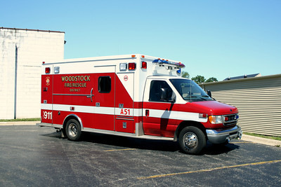 WOODSTOCK  AMBULANCE 51