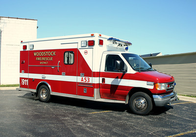 WOODSTOCK AMBULANCE 53