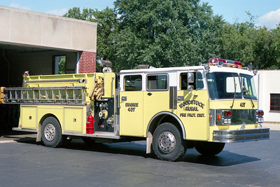 WOODSTOCK RURAL FPD  ENGINE 437  1986  SPARTAN - DARLEY   1000-1000