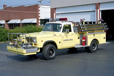 WOODSTOCK RURAL FPD  ENGINE 422  1976  IHC 4X4 -PIERCE   750-250   #9130-C