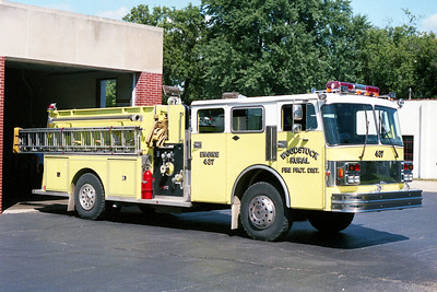 WOODSTOCK RURAL FPD  ENGINE 437  1986  SPARTAN - DARLEY   1000-1000   OFFICERS SIDE