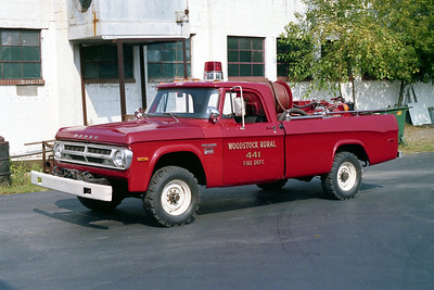 WOODSTOCK RURAL FPD  BRUSH 441  DODGE 500 - FD BUILT   100-250