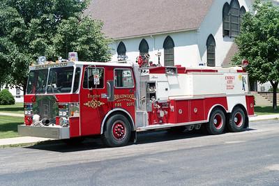 BRAIDWOOD FPD  ENGINE 2413  1986  SPARTAN - ALEXIS   1000-2500   # 1374