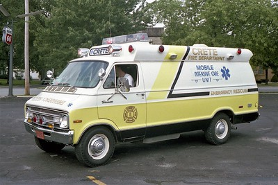 CRETE FD  AMBULANCE 703