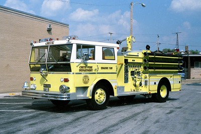 CRETE FD ENGINE 705  1967  WLF P80   1000-500  SIDE LOT