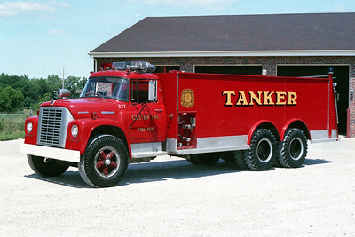 CUSTER TOWNSHIP   TANKER 227  1972 IHC - WELCH  250-2500  X-WILMINGTON FPD