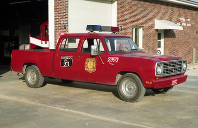 CUSTER TOWNSHIP  UTILITY 2990  1979 DODGE
