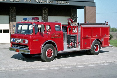 EAST JOLIET ENGINE 521  1996 FORD C8000 - DARLEY  1250-750