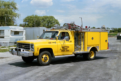 ELWOOD FPD  ENGINE 618  1979  CHEVY - E-ONE   250-250   #934