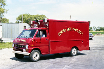 ELWOOD FPD  RESCUE 615  1970  FORD E300 - FD BUILT