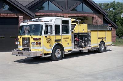 ELWOOD FPD  ENGINE 612  2004  SUTPHEN   2000-750-300F   HS-3791