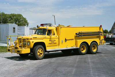 ELWOOD FPD  TANKER 617  1970  FORD SUPER DUTY - ALEXIS   500-2400   #925