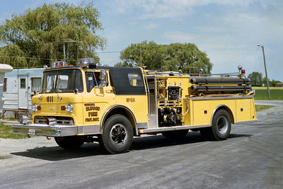 ELWOOD FPD  ENGINE 611  1978  FORD C - ALEXIS   1000-750   #1150