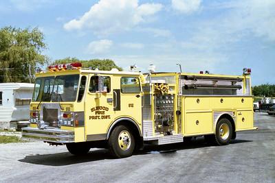 ELWOOD FPD  ENGINE 612  1984  SPARTAN - PIERVILLE   1250-1500   #1349