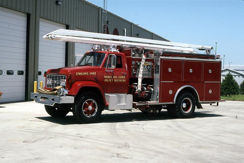 ENGINE 1422  1971 GMC - NATIOANL FOAM  1500-750F-54'
