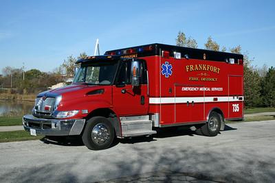 FRANKFORT FPD,IL AMB.735