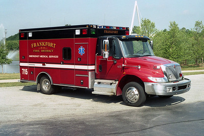 FRANKFORT FPD  AMBULANCE 715