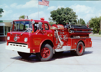 LOCKPORT FPD ENGINE 14 FORD / AMERICAN LAFRANCE
