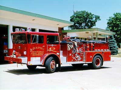 LOCKPORT FPD ENGINE 5 AMERICAN LAFRANCE